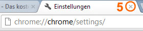 Browser-Cache leeren im Google Chrome 5/5