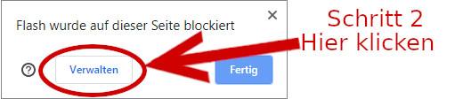 Das Plugin wird blockiert